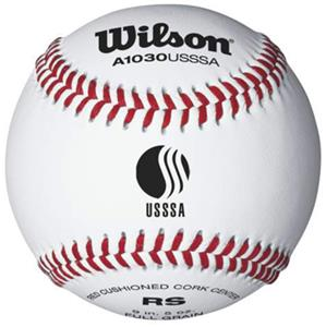 Wilson USSSA Youth League Baseballs 10DZ