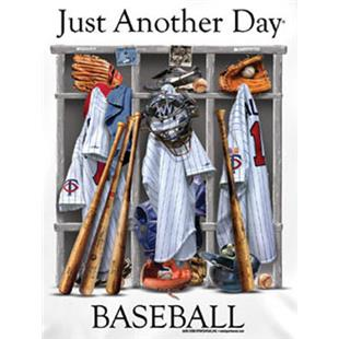 Just Another Day Baseball tshirts