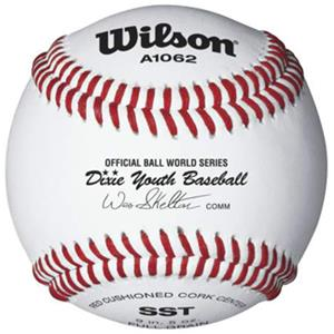 Wilson Dixie Youth Tournament Play Baseballs 10DZ