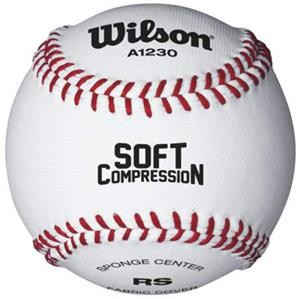 Wilson Soft Compression Cloth Raised Seam Baseball