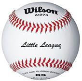 Wilson Little League Raised Seam Baseball WTA1274T