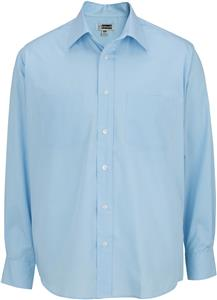 Edwards Mens Broadcloth Long Sleeve Shirt