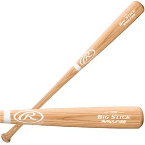 Rawlings Bone Rubbed Ash Big Stick Baseball Bat