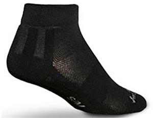 Sockguy Channel Air Black Socks