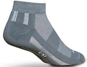 Sockguy Channel Air Grey Socks