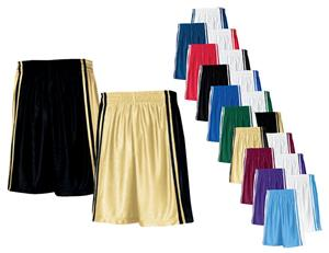 Court Dazzle Long Game Basketball Shorts-Closeout