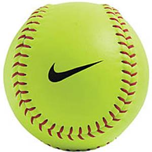nike 12 synthetic cover raised seam softball baseball equipment rh baseball epicsports com Nike Logo Shirts Cool Nike Logos