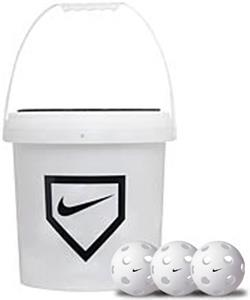 "NIKE 9"" Training Baseball 30-PC Bucket"