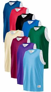 Reversible Tricot Mesh Basketball Jerseys-Closeout