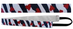Red Lion Zebra/Hearts Sport Fashion Headbands