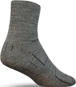 Sockguy Charcoal Wooligan Socks