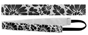 Red Lion Floral Print Sport Fashion Headbands