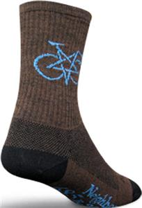 Sockguy Penta Bike Wool Crew Socks