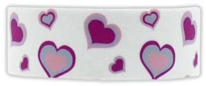 Red Lion Hearts Printed Headbands