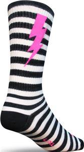 """Sockguy Lightning Wool 8"""" Crew Socks"""