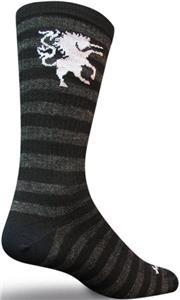 "Sockguy Medieval Unicorn Wool 8"" Crew Socks"