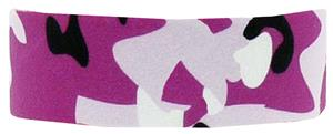Red Lion Pink Camo Printed Headbands