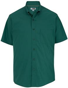 Edwards Mens Casual Poplin Short Sleeve Shirt