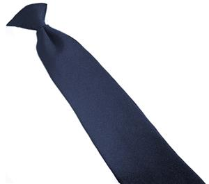 Edwards Mens Clip-On Polyester Tie