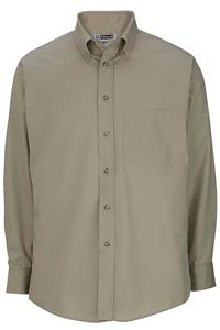 Edwards Mens Easy Care Poplin Long Sleeve Shirts