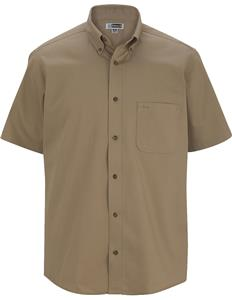 Edwards Mens Cotton Plus Twill Short Sleeve Shirt