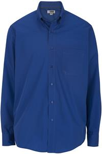 Edwards Mens Cotton Plus Twill Long Sleeve Shirt