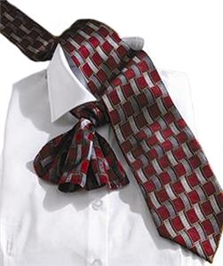 Edwards Mens Signature Basket Weave Silk Tie