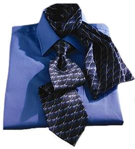 Edwards Mens Signature Wave Silk Tie