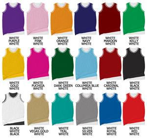 Basketball Reversible Dazzle/Tricot Mesh Jersey