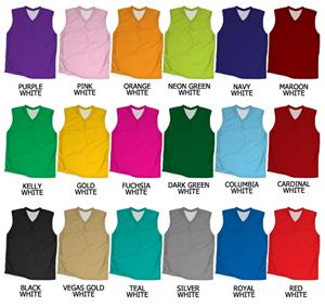 Basketball Reversible Dazzle/Tricot Mesh Jerseys