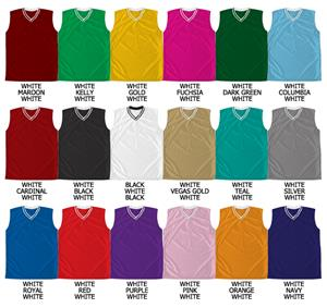 Basketball Pro Weight Textured Mesh Pro Cut Jersey