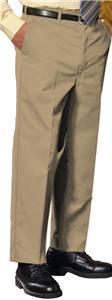 Edwards Mens Business Casual Flat Front Pant
