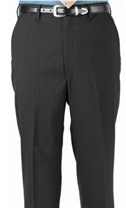 Edwards Mens Pinstripe Flat Front Dress Pants