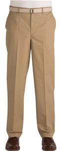 Edwards Mens Flat Front Easy Fit Chino Pants