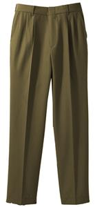 Edwards Mens Washable Poly/Wool Pleated Front Pant