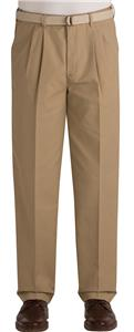 Edwards Mens Pleated Front Chino Pants