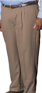 Edwards Mens Microfiber Pleated Pants
