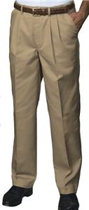 Edwards Mens Pleated Front Easy Fit Chino Pants