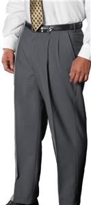 Edwards Mens Poly/Wool Pleated Dress Pants