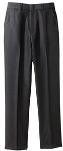 Edwards Mens Flat Front Poly/Wool Plain Pants