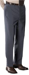 Edwards Mens Flat Front Solid Dress Pants