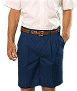 Edwards Mens Long Pleated Front Chino Shorts