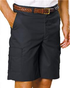 Edwards Mens Long Cargo Flat Front Shorts
