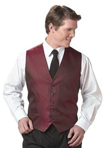 Edwards Mens Diamond Brocade Vest