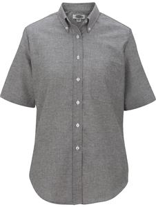 Edwards Womens Easy Care Short Sleeve Oxford