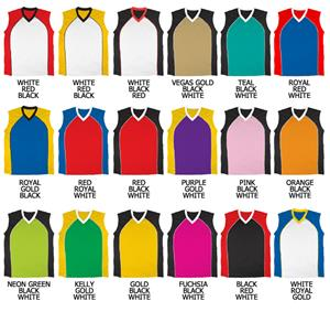 Basketball Dazzle Cloth w/Front Insert Jerseys