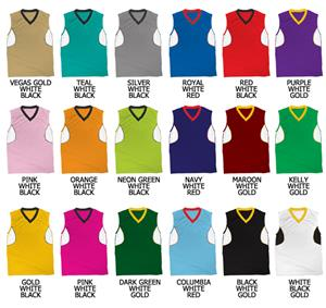 Basketball Speed Series Cool Mesh V-Neck Jersey