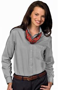 Edwards Womens Easy Care Long Sleeve Oxford