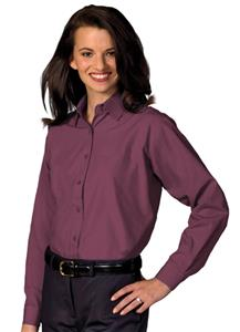 Edwards Womens Broadcloth Value Long Sleeve Shirt