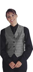 Edwards Womens Swirl Brocade Vest